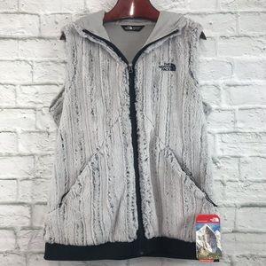 NWT! The North Face Furlander Faux Fur Vest